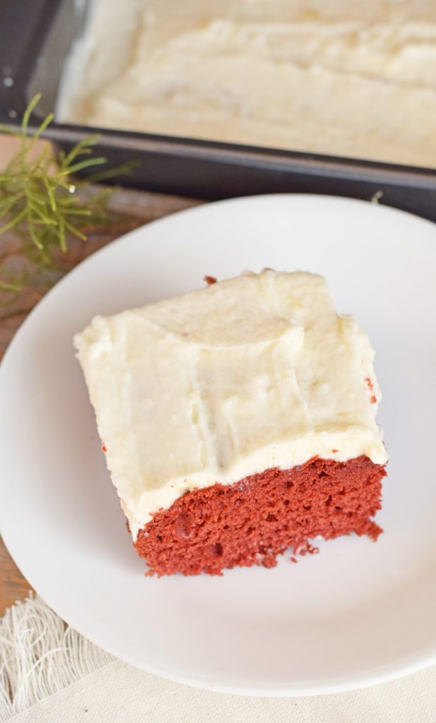 The Tastes of Home for the Holidays + Red Velvet Sheet ...