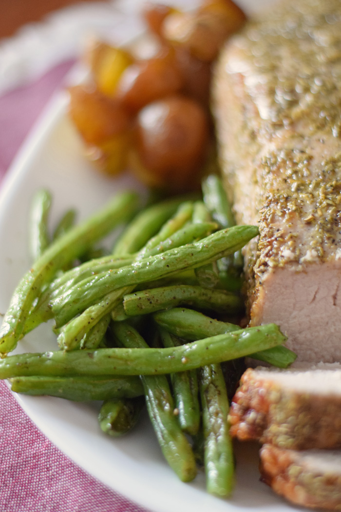 Roasted Pork Loin with Potatoes recipe AD