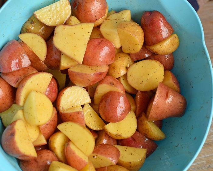 Roasted Pork Loin with Potatoes recipe AD