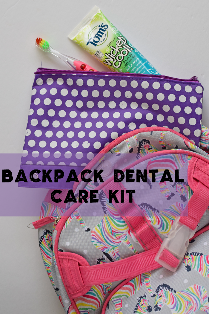 Backpack Dental Care Kit AD