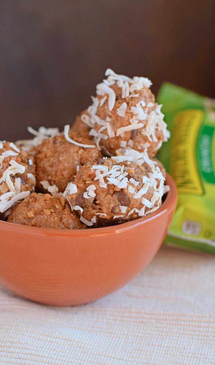 Oats and Honey Energy Bites recipe AD