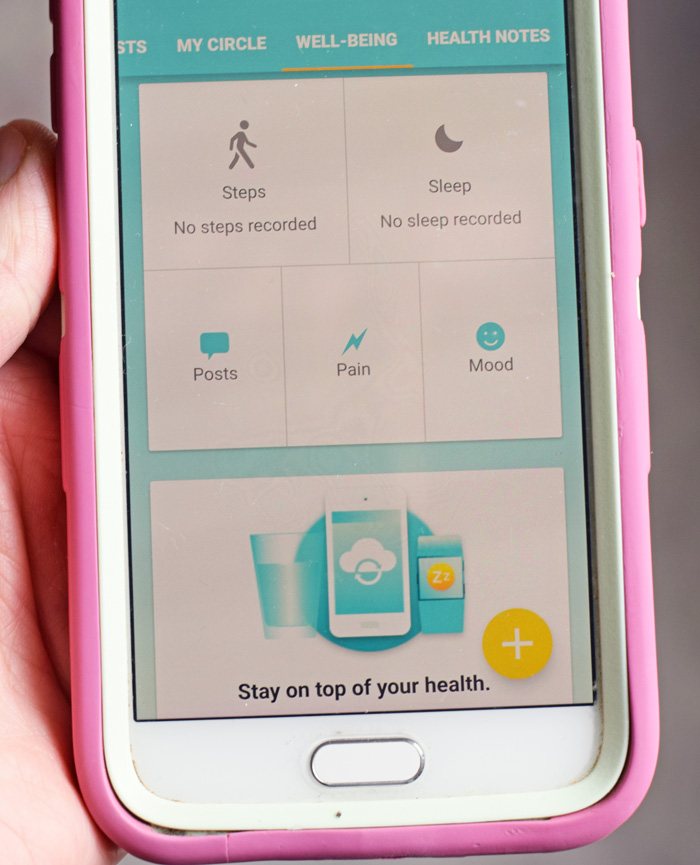 Living with Cancer Support App AD
