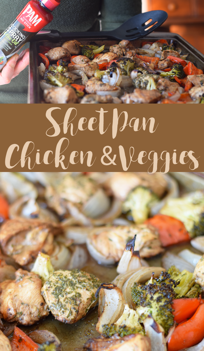 Sheet Pan Chicken and Veggies Recipe AD