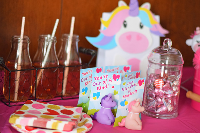 Unicorn Themed Valentine's Day Party AD