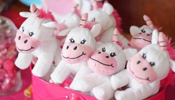 Unicorn Themed Valentine's Day Party