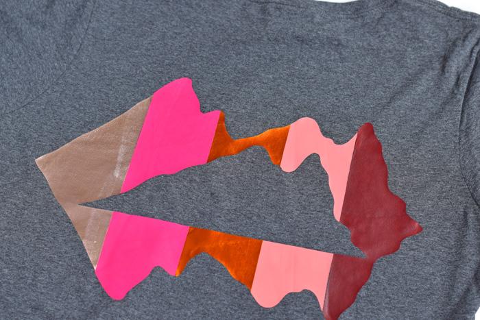 Mountains HTV (Iron-On) Shirt Design AD