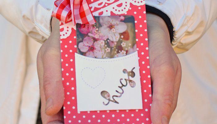 DIY Paper Gift Card Holder