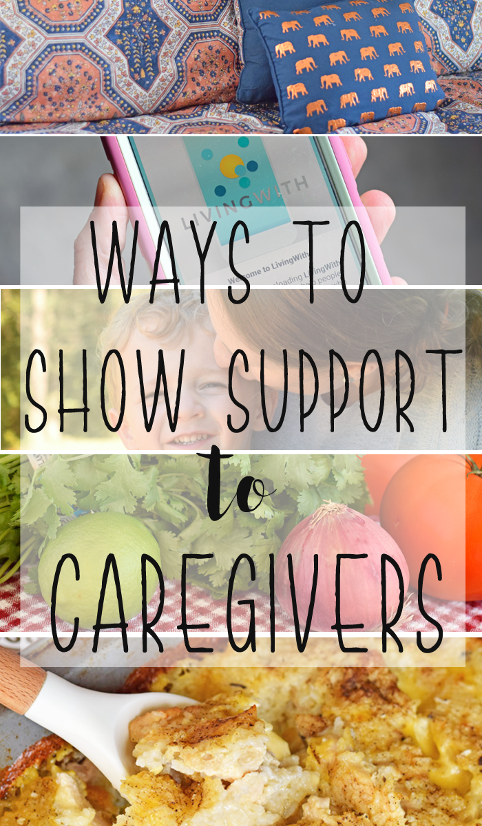 Ways to show support to caregivers AD