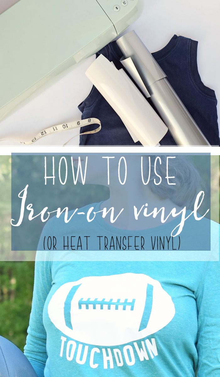 How to Use Iron-on Vinyl (or Heat Transfer Vinyl)