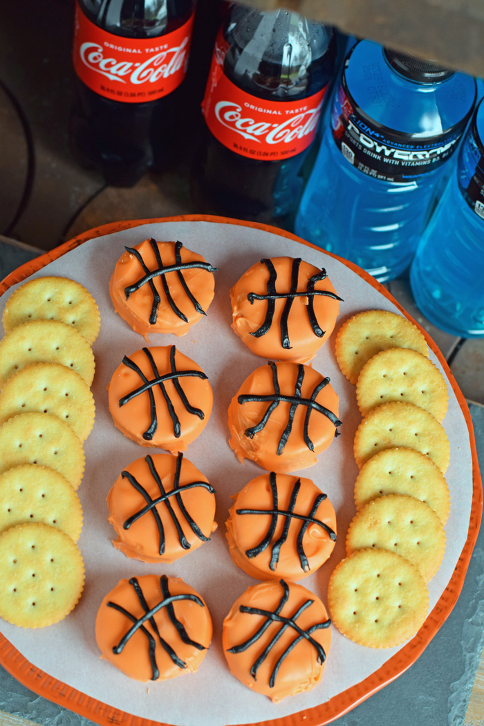 Basketball Peanut Butter Crackers AD