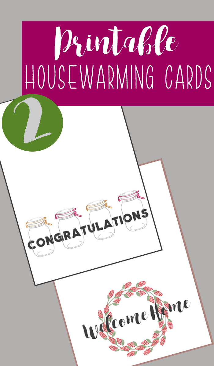 New Homeowner Gift Ideas + Printable Housewarming Cards