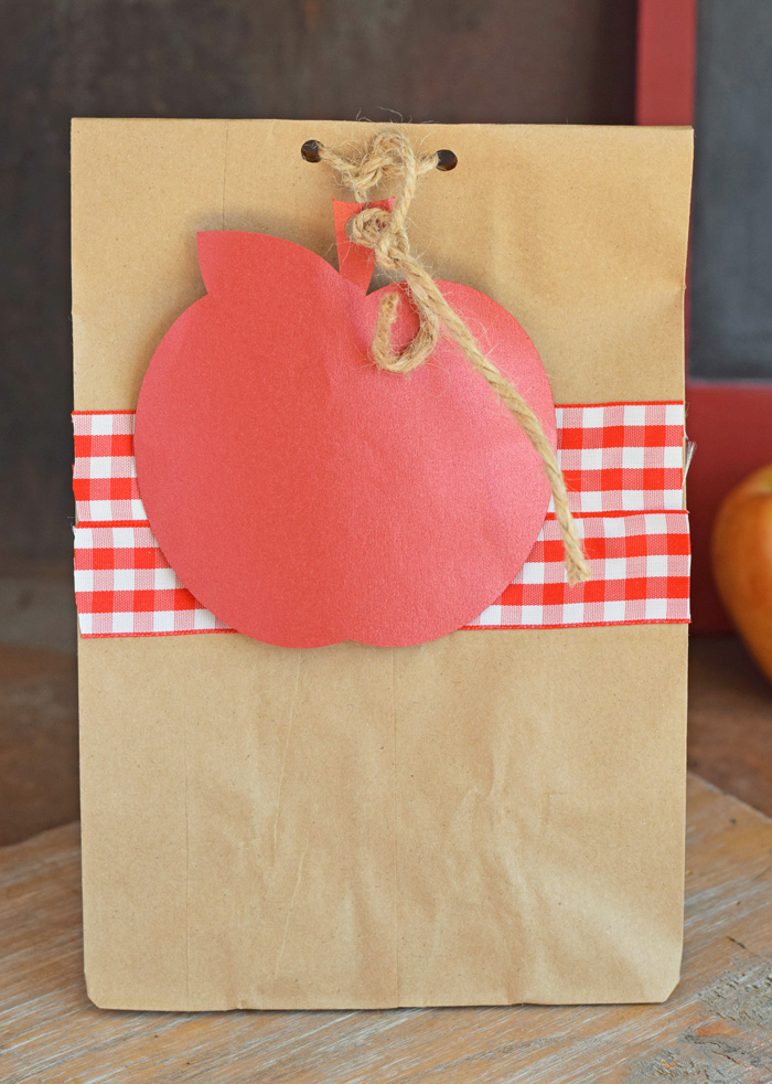 Teacher Appreciation Gift Bags from paper bags AD