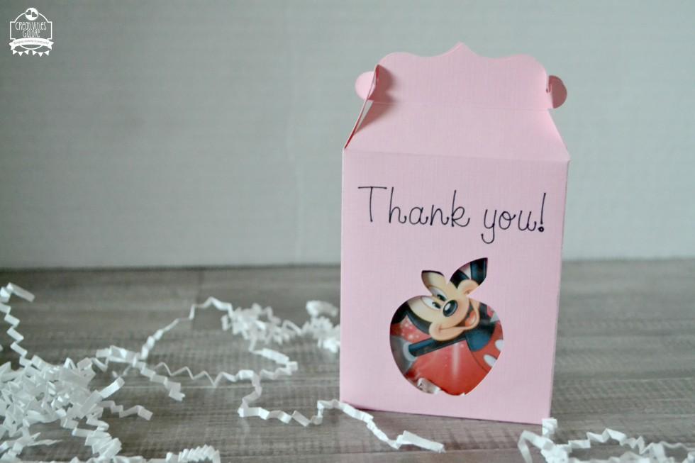 Teacher Appreciation Gift Box Made with the Cricut