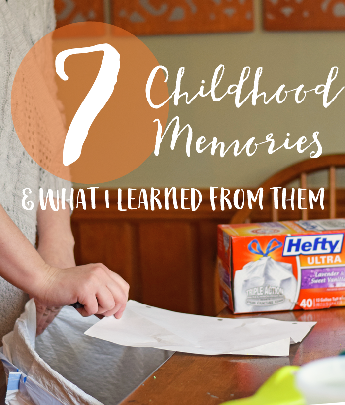 7 Childhood Memories (+ what I learned from them) AD