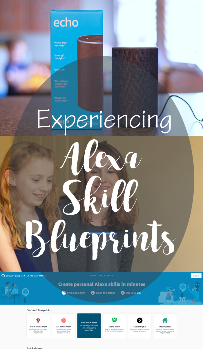 Using Alexa Skill Blueprints for homework help AD