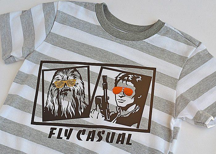 4 Star Wars Inspired Iron-on Shirt Designs