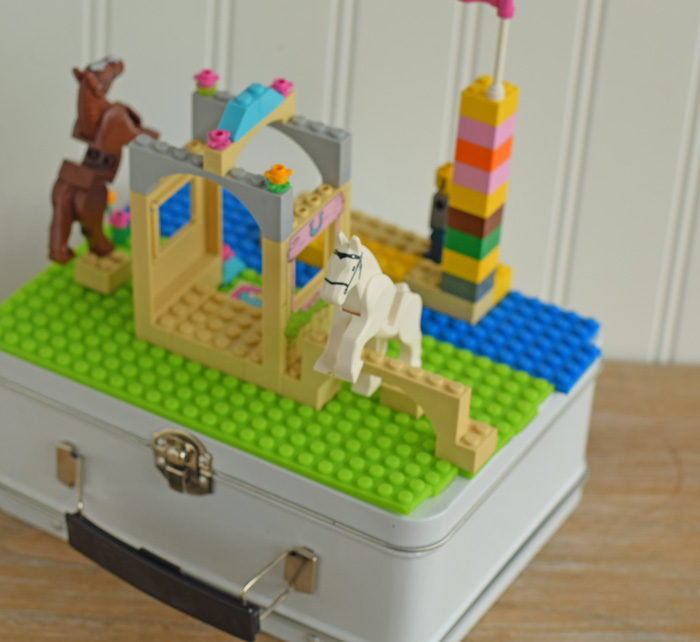 DIY Travel Block Case with MAYKA Toy Block Tape AD