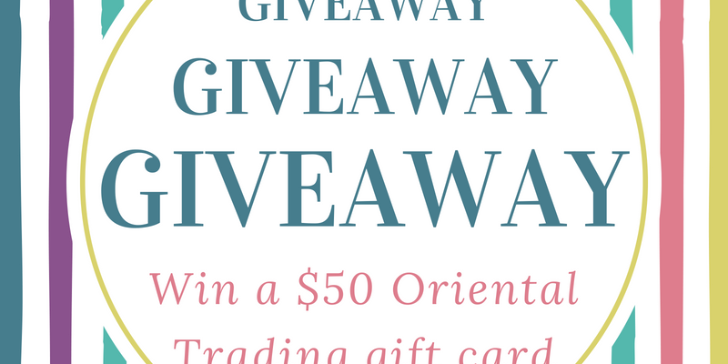Summer Crafting Oriental Trading Giveaway!