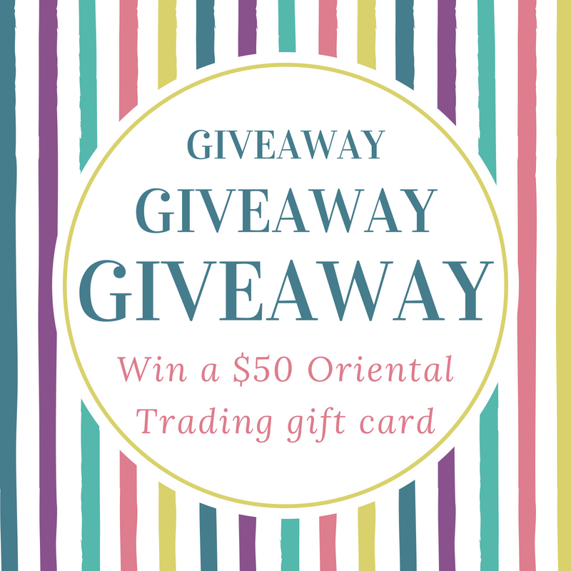 Oriental Trading $50 Gift Card Giveaway