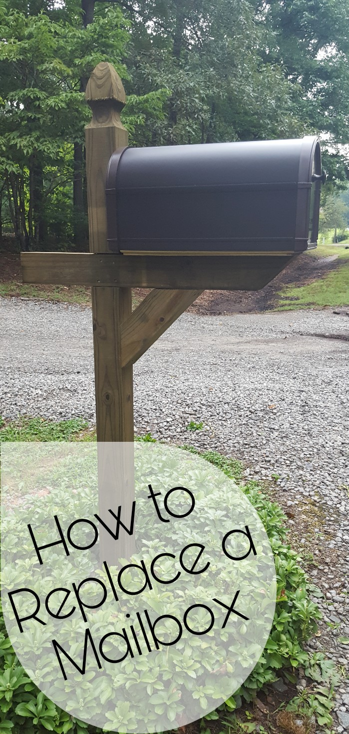 How to Replace a Mailbox Post