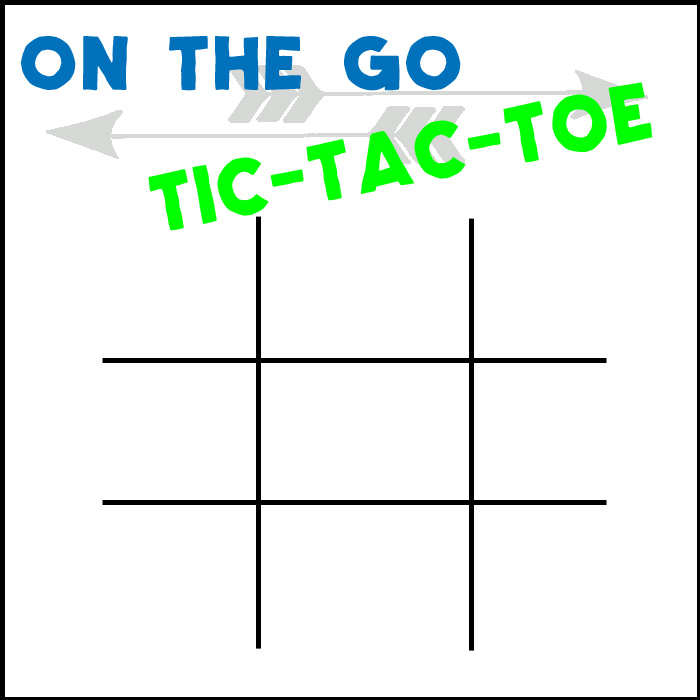 image about Tic Tac Toe Printable known as Street Vacation Tic Tac Toe Printable