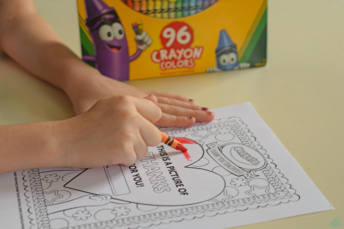 Thank a Teacher with the Crayola Thank a Teacher Contest ad