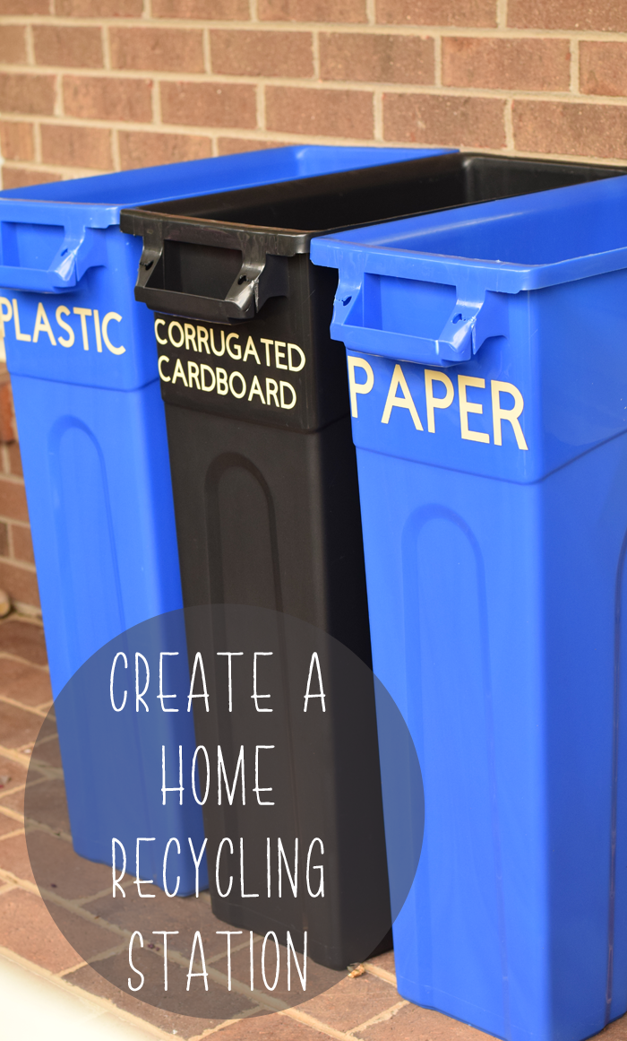 How to Create a Home Recycling Station AD