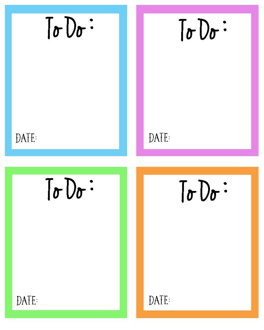 Tackling Busy Days + To Do Planner Printable
