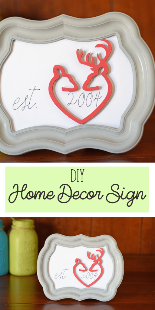 Home Decor Project with Craft Cuts AD