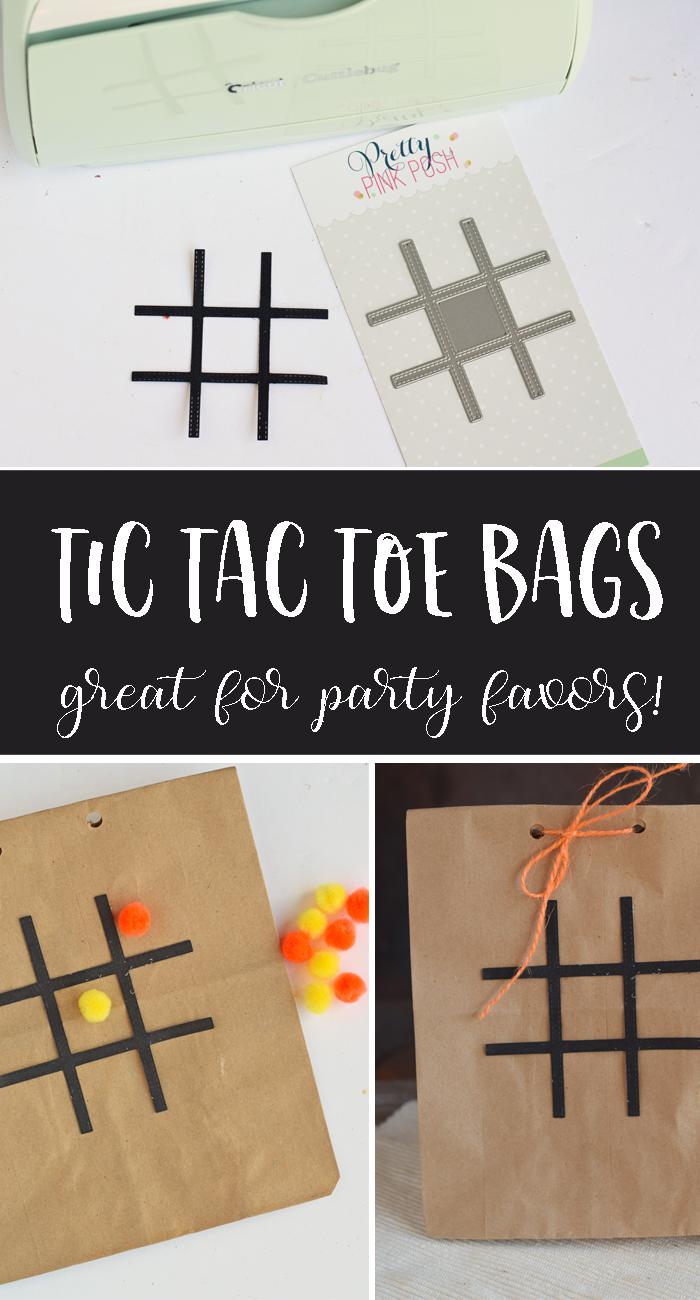 Tic Tac Toe Favor Bags AD