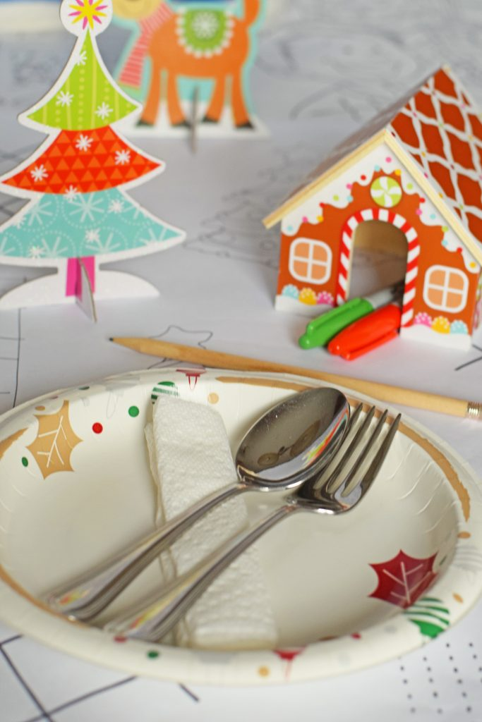 Creating a Kid Friendly Holiday Table AD