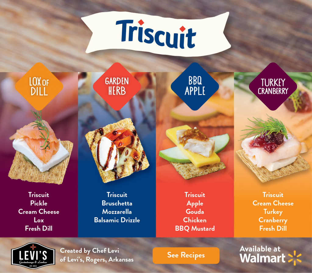 Tasty Triscuit Appetizers for Holiday Parties AD