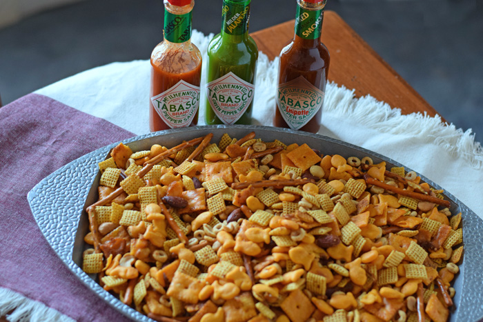 Spicy Snack Mix for Game Day AD