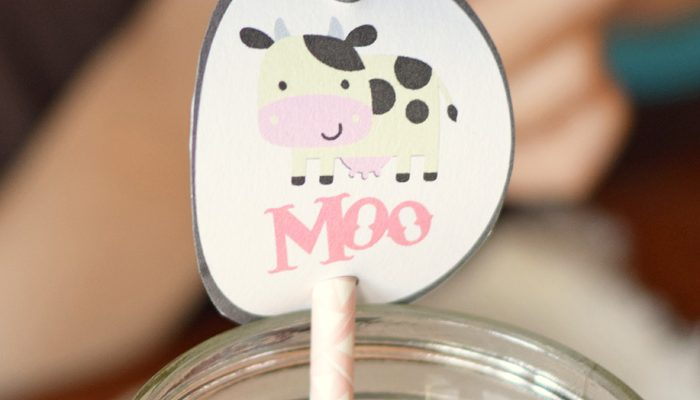 DIY Milk Straw Toppers + Milk Moments AD