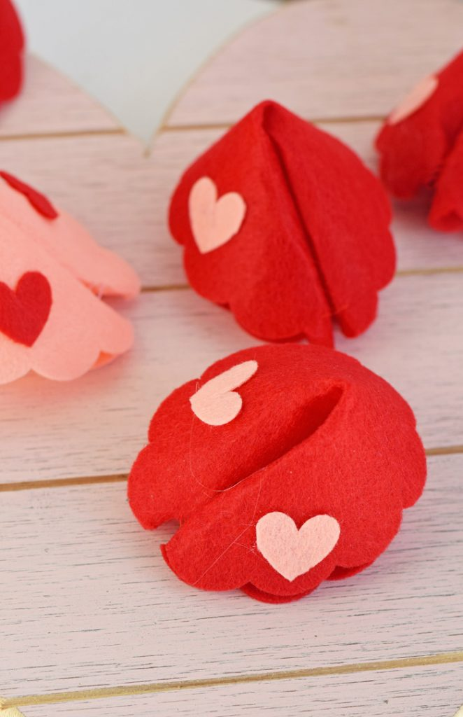 DIY Fortune Cookie Valentine Treats with the Cricut Maker AD