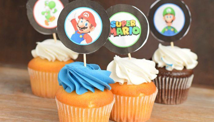 Super Mario Birthday Lunch
