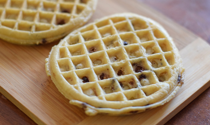 S''mores Waffle Recipe for Movie night or snacking! AD