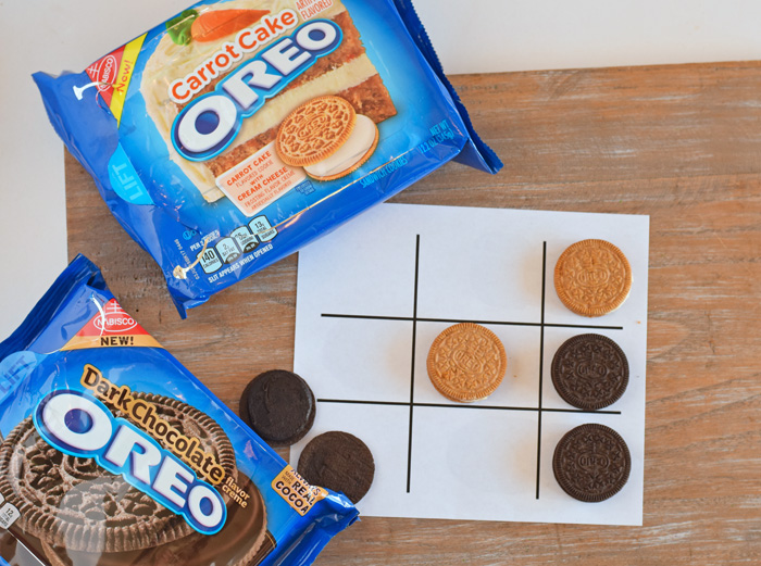 OREO Stuf Inside Event + Printable Tic-Tac-Toe Sheet AD