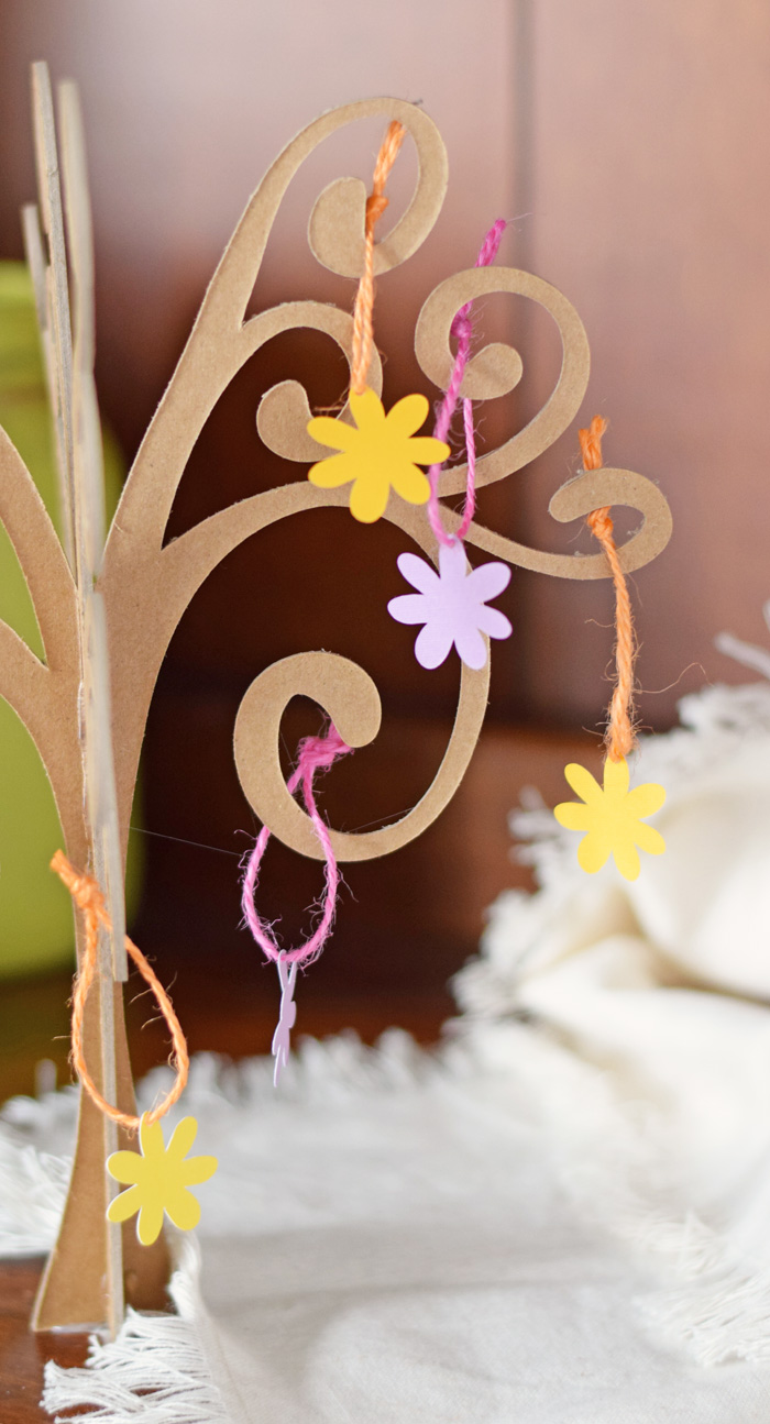 3D Chipboard Tree with the Cricut Maker AD