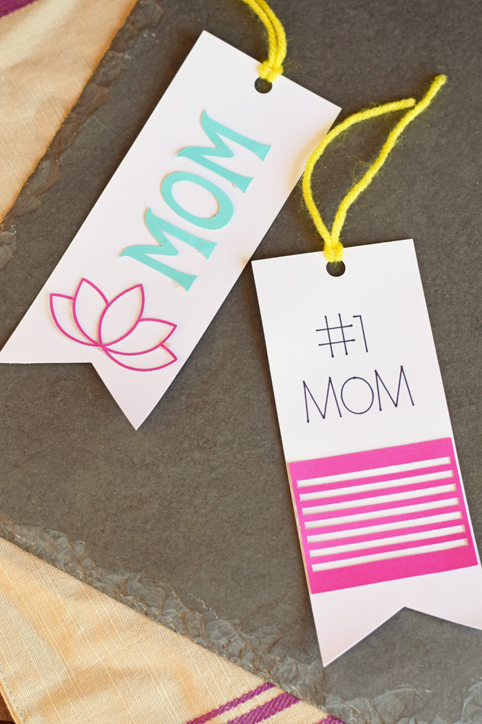 Mother's Day Bookmarks made with the Cricut machine AD