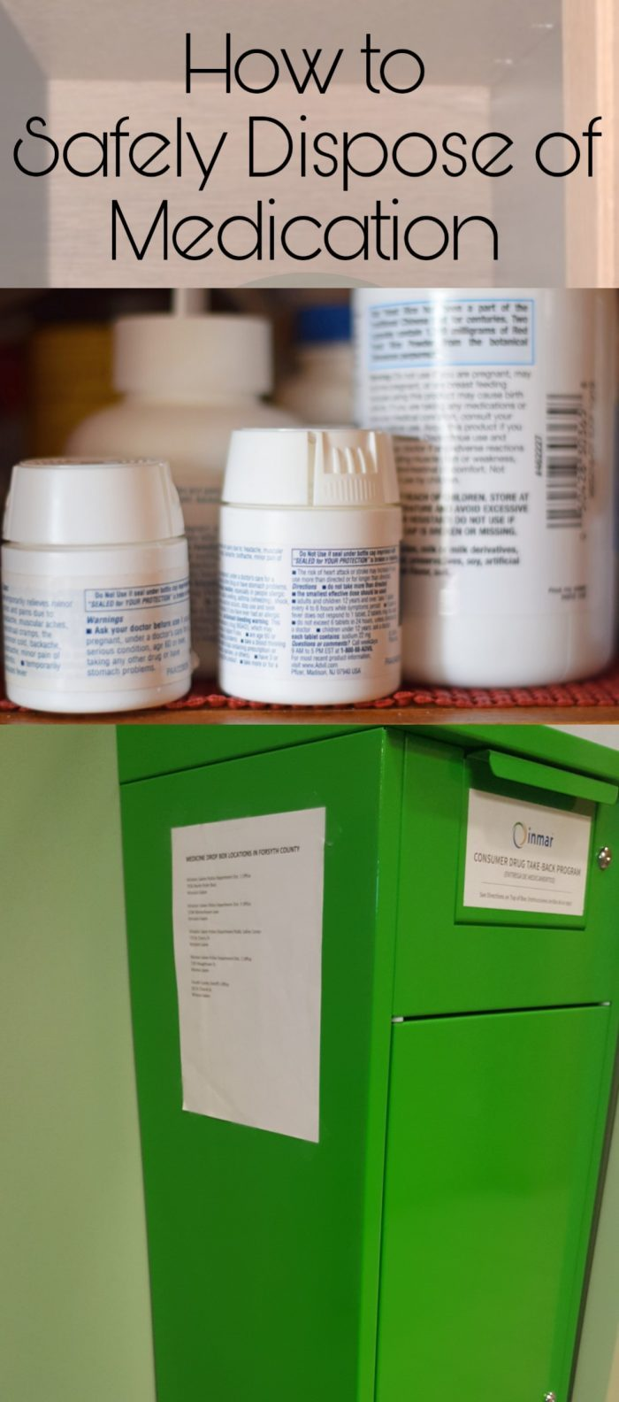 How to Safely Dispose of Medication AD