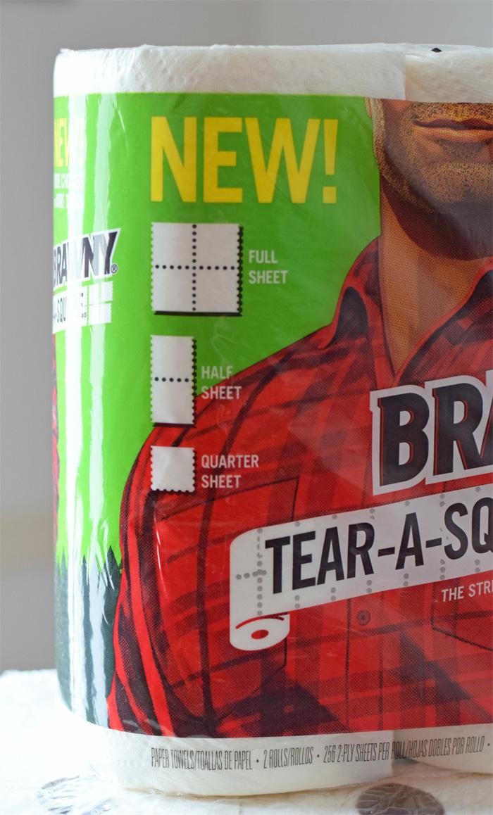 Kid-Friendly Honey Mango Smoothie + Brawny new tear a square AD