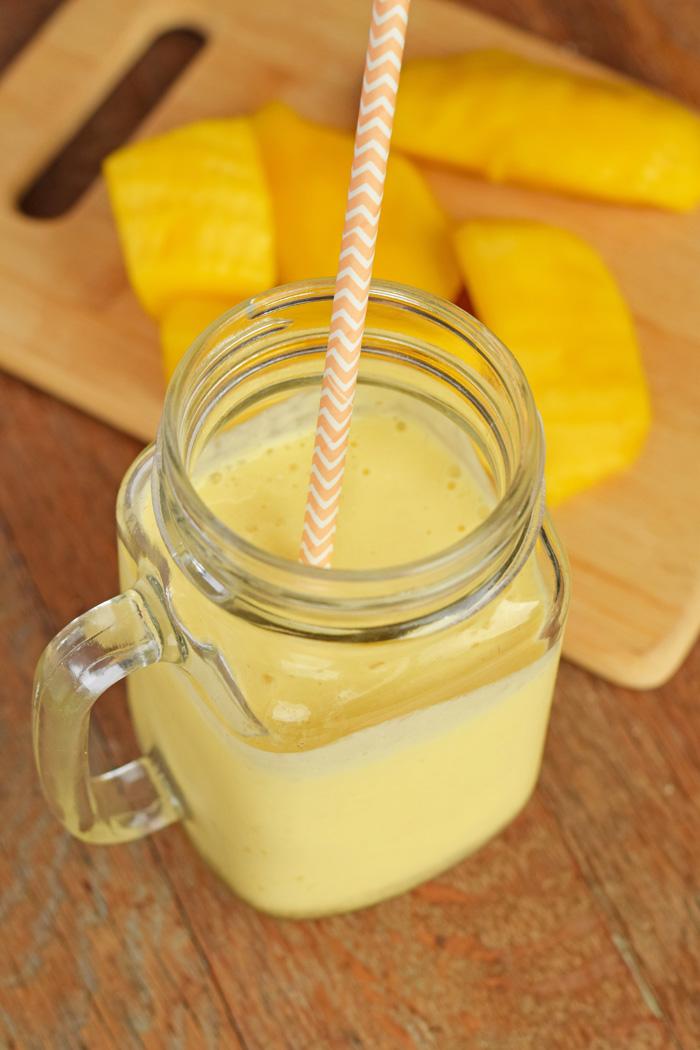 Kid-Friendly Honey Mango Smoothie AD
