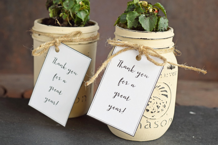 Thanks for a Great Year Gift and Printable for end of the year, teacher appreciation, Sunday School teachers, or other coaches and leaders.