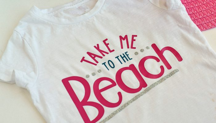DIY Take Me to the Beach Shirt + Myrtle Beach Oceanfront Condo Giveaway Contest
