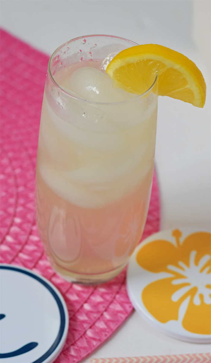 Single Serving Lemonade recipe for a refreshing beverage on a hot day!