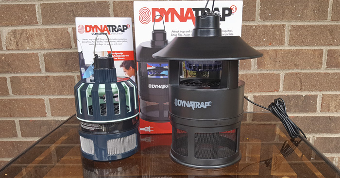DynaTrap products for home insects and pests. AD