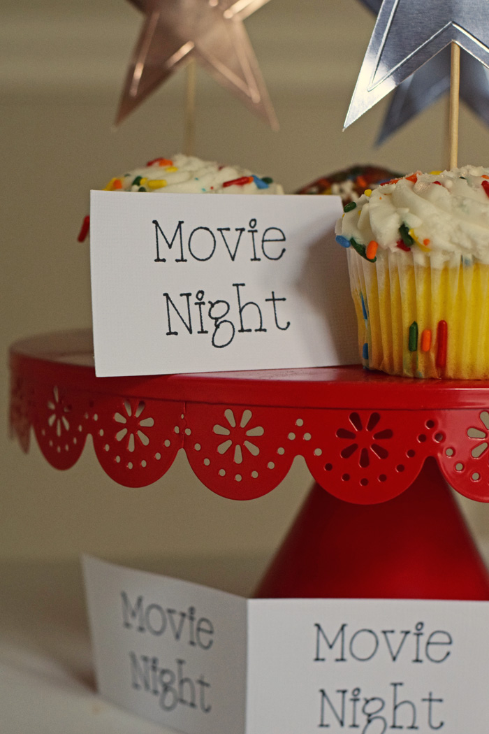 Movie Night Tickets with the Cricut Perforation Blade AD