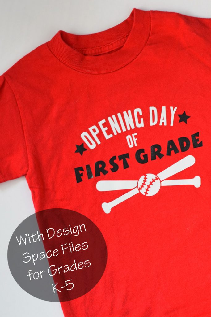 Opening Day First Day of School Shirt