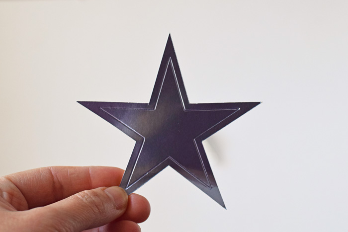 Star Cupcake Toppers with the Cricut Fine Debossing Tip AD